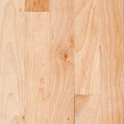 3/4 x 3-1/4 Natural Maple Unfinished Solid Hardwood Flooring